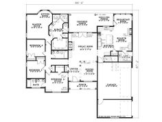 house floor plans with inlaw suite: Design Your New Home For Rental Income Time To Build House Floor Plans In Law Suite Family Bedrooms Are Located On The Opposite Side Of A Turn Garage Creates Drivewa Family House Plans, Dream House Plans, House Floor Plans, Home And Family, Family Homes, The Plan, How To Plan, Plan Design, Home Design