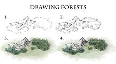 Dark forests are a staple of fantasy literature. In this tutorial I run down the methods I use to draw and colour 3/4 view forests for world and regional scale maps. #fantasy #map #tutorial