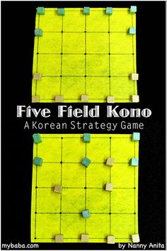 How to play five field kono. An abstract strategy game from Korea. It is a bit like Chinese checkers. Board Games For Boys, Logic Games For Kids, Indoor Activities For Kids, Math Games, Articulation Activities, Youth Activities, Therapy Activities, Group Games, Family Games