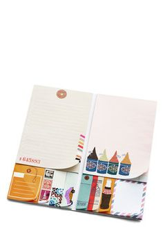 Traveling To-Dos Sticky Note Set, #ModCloth