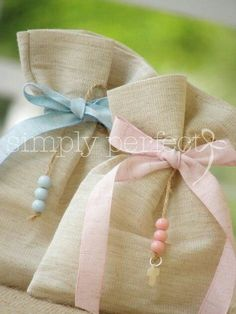 baby shower & christening favors - Gifts For Love Christening Favors, Baptism Favors, Baby Baptism, Unique Wedding Favors, Wedding Gifts, Party Gifts, Diy Gifts, Communion Favors, Lavender Bags