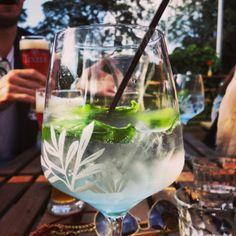 Te gekke gin&tonic bij Mossel&gin
