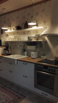 Koti, Kitchen Cabinets, Home Decor, Decoration Home, Room Decor, Cabinets, Home Interior Design, Dressers, Home Decoration