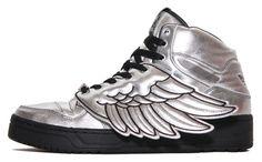 Le ali di luce d'oro adidas jeremy scott scarpe adidas jeremy scott