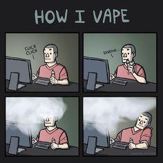 Vape haze alert