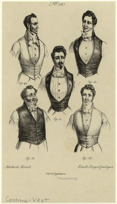 is close to what i'm after. low cf with shaping at hem, single breast with lapels not overwhelming Victorian Gentleman, Victorian Men, Victorian Fashion, Historical Costume, Historical Clothing, Style Dandy, Romantic Period, 19th Century Fashion, Mens Attire