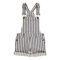 Bever Striped Dungarees-product