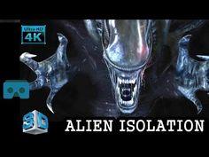 VR VIDEO 3D SBS | ALIEN ISOLATION VR 3D GAMEPLAY HD SCARY HORROR VR VIDE...