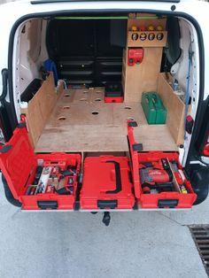 Rangement véhicule utilitaire fourgon berlingo partner équipements aménagement intérieur bosch ...