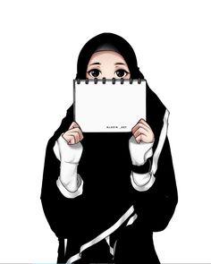 Hijabi Girl, Girl Hijab, Muslim Girls, Muslim Couples, Girl Cartoon, Cartoon Art, Muslim Pictures, Character Art, Character Design