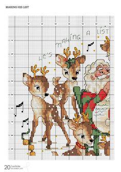 Cross Stitch Gallery, Cross Stitch Designs, Cross Stitch Patterns, Christmas Ornament Crafts, Christmas Cross, Hand Embroidery Art, Cross Stitch Embroidery, Xmas Cross Stitch, Craft Activities