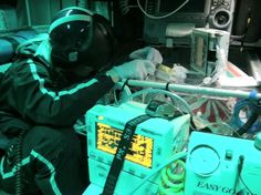 Flight nurse in transport with preemie patient. One possible dream job for me Flight Nurse, Emergency Medicine, Critical Care, Love My Job, Dream Job, Trauma, Transportation, Military, Medical
