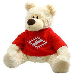 Мишка «Спартак» 1 200 руб. Замечательный сувенир для прекрасной половины спартаковской торсиды. Станет отличным подарком на любой праздник. Выполнен из прочного материала, безопасен для детей. Будет настоящим украшением дома спартаковской болельщицы. Teddy Bear, Toys, Animals, Activity Toys, Animales, Animaux, Clearance Toys, Teddy Bears, Animal
