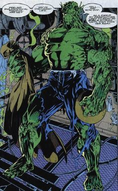 Abomination screenshots, images and pictures - Comic Vine Avengers Comics, Hulk Marvel, Batman Vs Superman, Comic Book Characters, Marvel Characters, Comic Books, Dragon Ball Z, Hulk Art, Greatest Villains
