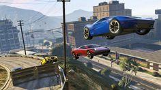 Amazing stunt jump