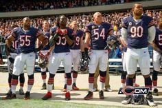 Lane Briggs, Charles Tillman, Brian Urlacher, Julius Peppers #bears The big D