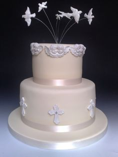 confirmation cake - Google Search