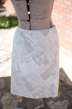 A personal favorite from my Etsy shop https://www.etsy.com/listing/231940530/farmhouse-frocks-knee-length-newspaper