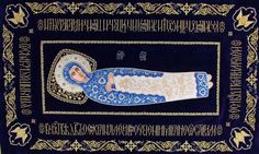 Holy Shroud of the Mother of God $2,760.00    The face and the hands of the Mother of God are painted on wood using acrylic paints. The halo is made of brocade and decorated with pearls, beads, and semiprecious stones in casts.   #orthodoxy #church #churchsupplies  #art #craft #incrustation #itemsforchurch  #shroud #MotherofGod