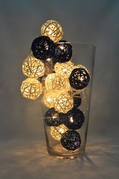 Rattan ball string light is handmade lighting from natural rattan     Rattan ball string light is handmade lighting from natural rattan thread   We use high quality materials to produce beautiful and unique h