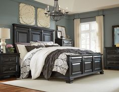 Passages King Panel Bed