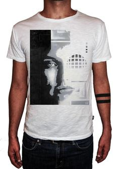 HERMAN EPIS - CYBERNETIC - T-Artist Collection - Author T-Shirt #doubleexcess #hermanepis #artist #art #artfashion #fashion #style #workofart #tshirt #tee #menstshirt #mensclothing #menswear #mensfashion #alternativetshirt #alternative #elegant #madeinprato #madeinitaly