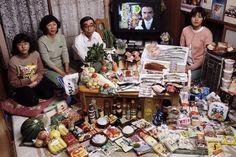 Cosa mangia il mondo: le foto e il libro di Peter Menzel