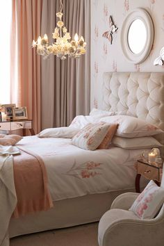 Cool Coral - Bedroom Design Ideas & Pictures – Decorating (houseandgarden.co.uk)