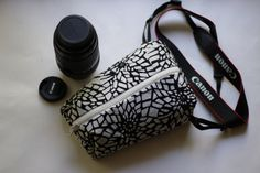 handcrafted SLR digital camera Nikon/Canon/Olympus/Fuji padded case Camera zipped purse  Capture the best feelings Travel and keep your camera in