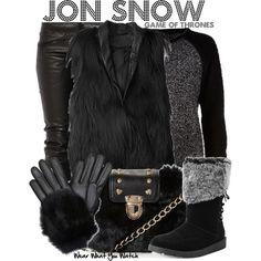 Inspired by Kit Harrington as Jon Snow on Game of Thrones.
