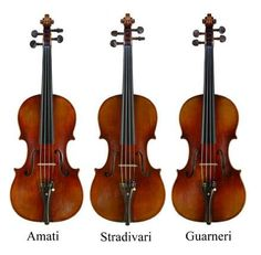 Oh! The trifecta of perfect violins.