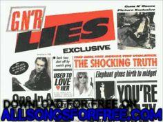 guns n' roses - One In A Million - G N' R Lies - YouTube