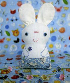 chibi rabbit tutorial - how cute is this??
