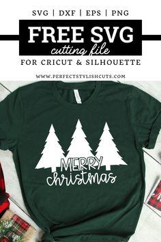 Merry Christmas, Christmas Vinyl, Christmas Shirts, Christmas Trees, Christmas Design, Cricut Svg Files Free, Free Svg Cut Files, Cricut Fonts, Cricut Tutorials