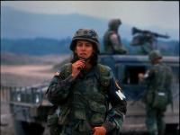 Military Police, U.S. Army in Bosnia in the 1990's
