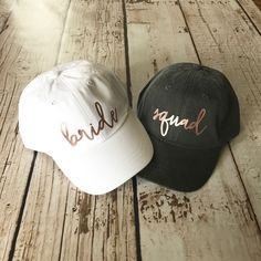 Excited to share the latest addition to my shop: Bride Squad Hat. Disney Bachelorette, Bachelorette Party Shirts, Bachelorette Party Decorations, Bachelorette Ideas, Party Favors, Wedding Trends, Wedding Ideas, Wedding Boxes, Bridesmaid Gifts