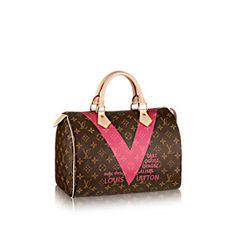 bd1a12907192 Speedy 30 MONOGRAM V - Monogram Canvas - Handbags