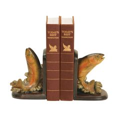 Pair of Rainbow Trout Bookends 91-4653
