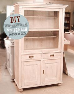 DIY whitewash verftechnieken