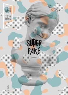 Super Fake Poster Design