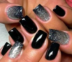 BLACK AND SPARKLES