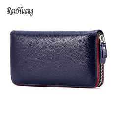 12.50$  Watch here - http://alixu2.shopchina.info/go.php?t=32768827548 - RanHuang Luxury Women Wallets and Purses High Quality Genuine Leather Wallet Famous Brand Designer Purses Black Pink Blue A371 12.50$ #shopstyle