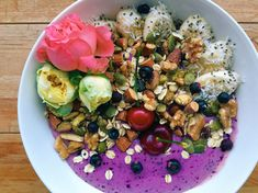 Get berry beautiful skin with this seasonal smoothie bowl recipe from our resident superfoodie, Anisa.