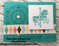 Carousel Birthday simplicity
