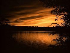 Fish Creek Ponds in the Adirondacks