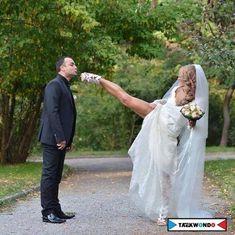 Taekwondo wedding! <3