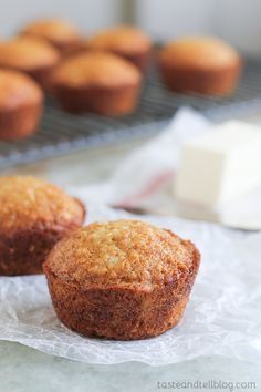 Brown Sugar Muffins - a family favorite for as long as I can remember!