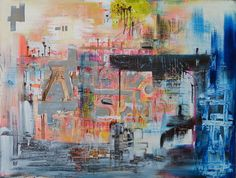 New Abstract Paintings Collection | Saatchi Online