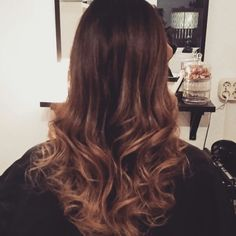 #ombre #brown #blond #hair