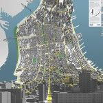 Here & There: Horizonless Projections of Manhattan